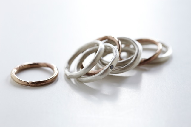 Stacking Rings by Ann Chikahisa